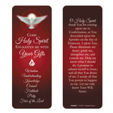 Come Holy Spirit Confirmation Jumbo Bookmark