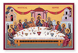 Mystical Supper - wide (The Last Supper) Icon
