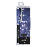 Peace on Earth - Gift Pen with Bookmark