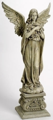 Angel with Wreath Statue