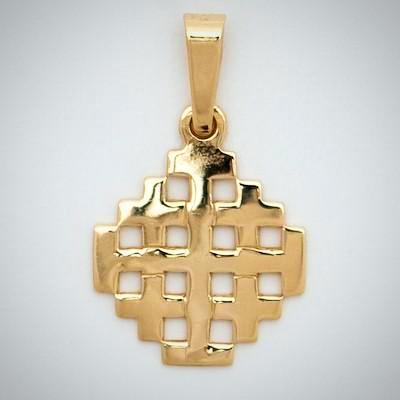 10k Medium Jerusalem Cross
