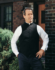 R.J. Toomey's Black Clergy Vest