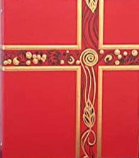 Ceremonial Red Binder Gold Embossing