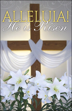 Bulletin-Alleluia! He Is Risen (Easter)
