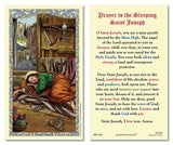 Prayer to the Sleeping Saint Joseph Holy Card