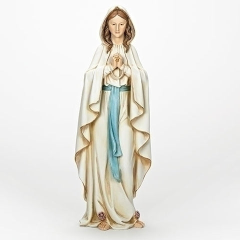 Our Lady Of Lourdes Statue 23""