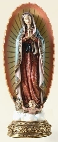 Our Lady of Guadalupe Statue - 11.75""