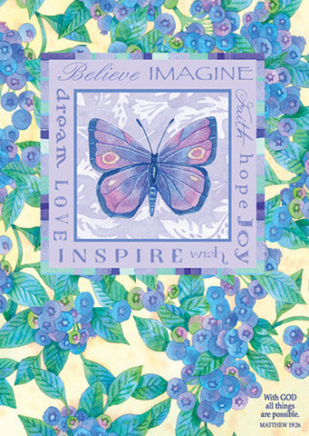 Large Poster - Dream Believe Imagine