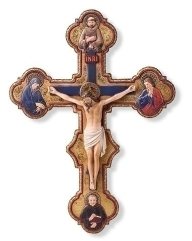 Master Of THe Orcagnesque Misericordia Crucifix 14.5""