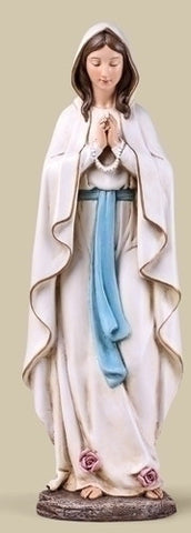Our Lady Of Lourdes Statue  13.5""