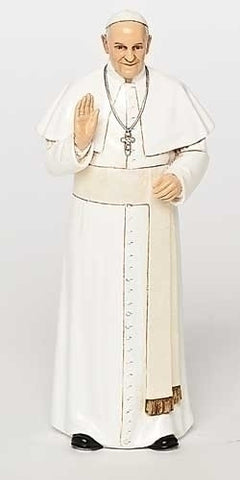 Pope Francis Statue 6""
