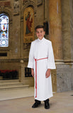 Altar Server Double-Panel Front Wrap Alb