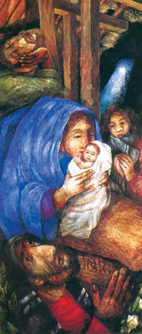 Rosenberg Nativity Christmas Poster
