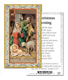 CHRISTMAS BLESSINGS HOLY CARD