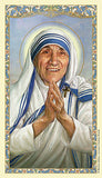 Saint Mother Teresa Laminated Holy Card