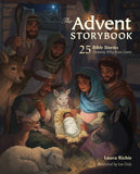 The Advent Storybook: 25 Bible Stories Showing Why Jesus Came Hardcover