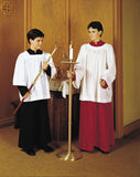 R.J. Toomey Round Neck Surplice for Seminarians - 3/4 Sleeve