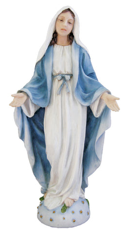 Statue Our Lady of Grace  8""