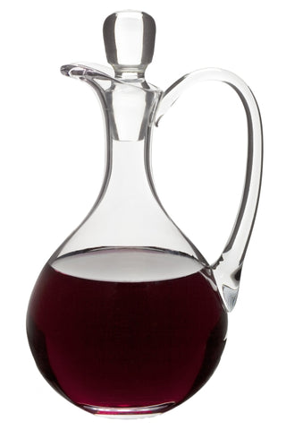 Glass Flagon