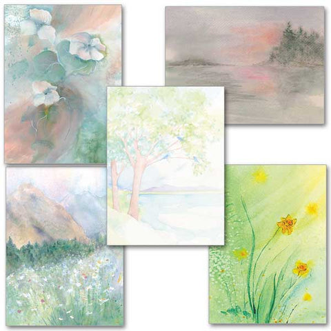 Glimpes of God Collection  Assorted Get Well Cards 10pk