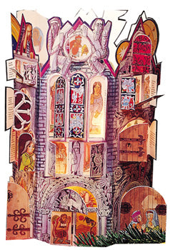 Fling Wide the Doors: An Advent and Christmastime Calendar Steve Erspamer, SM, artist