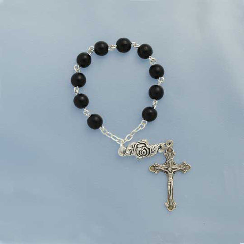 Black Wood Decade Rosary