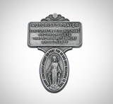 Car Visor Miraculous Medal  Motorist's Prayer
