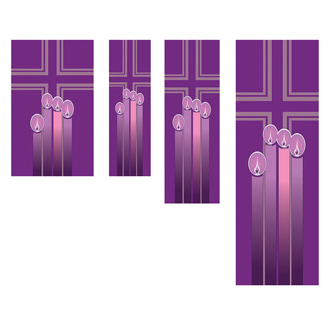 All Seasons Series Banner - Advent Candles