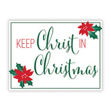 Yard Signs: Keep Christ In Christmas