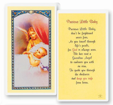PRECIOUS LITTLE BABY HOLY CARD