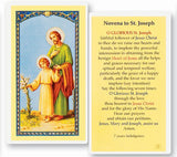 Novena To Saint Joseph Holy Card