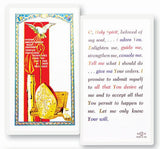 Confirmation O Holy Spirit Laminated Holy Card