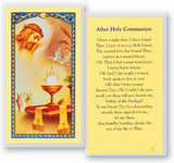 PRAYER AFTER HOLY COMMUNION HOLY CARD