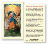 OUR LADY, UNTIER OF KNOTS HOLY CARD