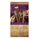 Easter Series Banner - Forgiven It Is Finished