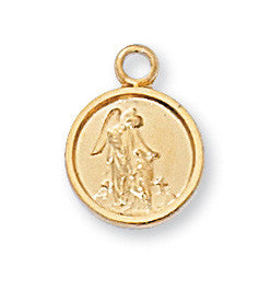 Gold over Sterling Miraculous Pendant