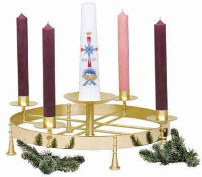 Advent Wreath - K604