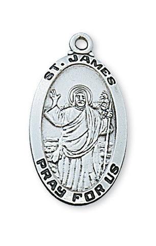 Sterling Silver St. James Pendant