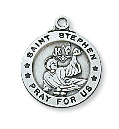 Sterling Silver St. Stephen Pendant