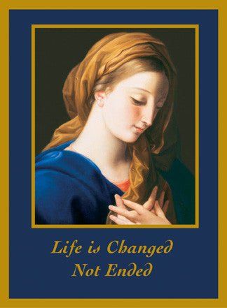 Madonna (Life is Changed Not Ended)