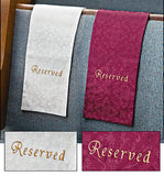 Embroidered Jacquard Reserve Cloth