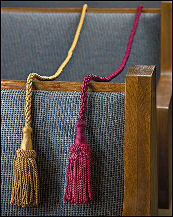 Weighted Pew Ropes