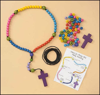 Make Your Own Beaded Rosary Craft Kit