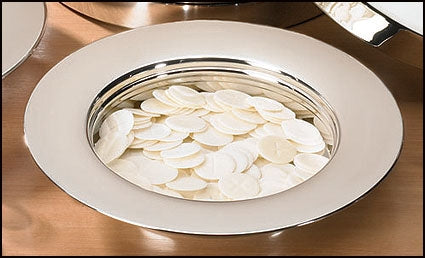 Stacking Bread Plate - Silver Finish