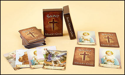 Saint Memory Card Game
