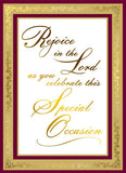 Special Occasion Mass Card