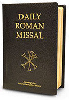 Daily Roman Missal, 7th Ed., (Bonded Leather, Black) According to the Roman Missal, Third Edition