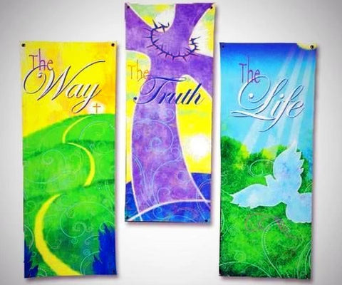 New Life in Christ set - Banners