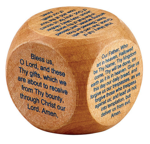 Favorite Catholic Prayers Prayer Cube