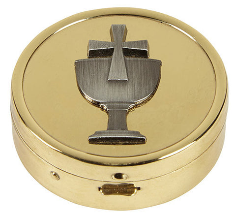 Pyx with Embossed Chalice